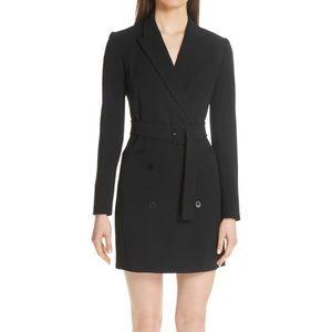 Theory black blazer dress